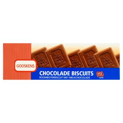 Gooskens Chocolade Biscuits 9 Stuks 125 g