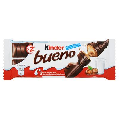 Kinder Bueno Melk en Hazelnoten 2 Stuks 43 g