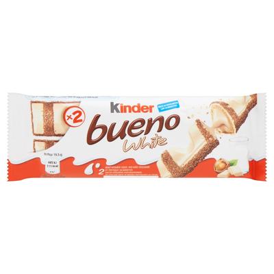 Kinder Bueno White Melk en Hazelnoten 2 Stuks 39 g