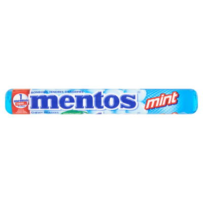 Mentos Chewy Dragees Mint 37,5 g