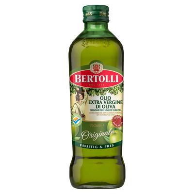 Bertolli Extra Olijfolie van de Eerste Persing Originale 750 ml