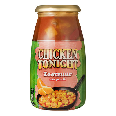Chicken Tonight Zoetzuur perzik