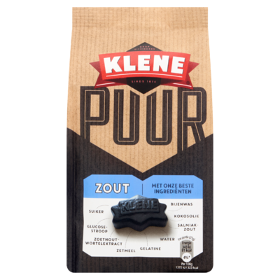 Klene Puur Zout 200 g