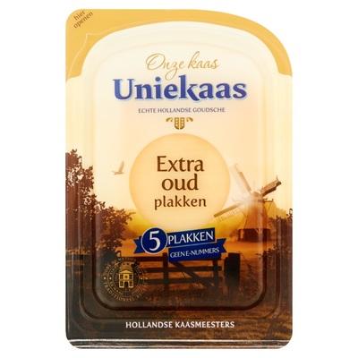 Uniekaas Extra Oud 5 Plakken 48+ 125 g