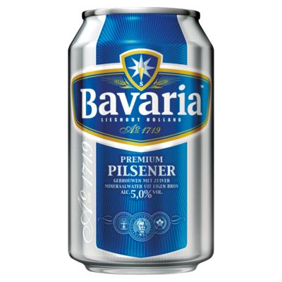 Bavaria Premium Pilsener 5.0% Blik Bier 33 cl