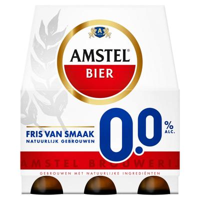 Amstel 0.0 Flessen 6 x 30 cl