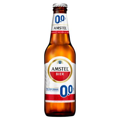 Amstel 0.0 Alcoholvrij Bier Fles 30 cl
