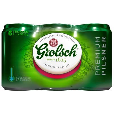 Grolsch Bier Blik 6 X 33 Cl