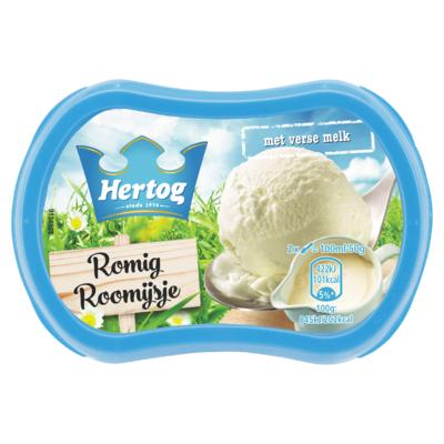 Hertog IJs Roomijs 200 ml