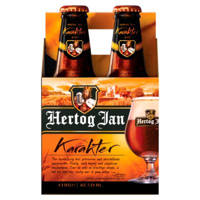 Hertog Jan Karakter Flessen 4 x 30 cl