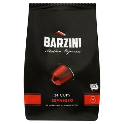 Barzini Italian Espresso 24 Cups 120 g