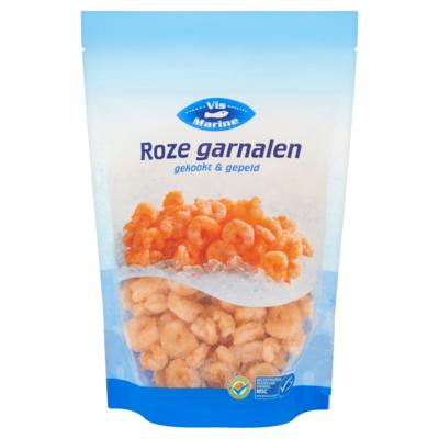 Vismarine Roze Garnalen Gekookt & Gepeld 300 g