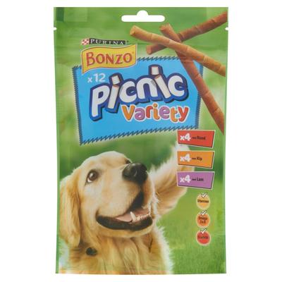 Bonzo Picnic Variety 12 Stuks 100 g