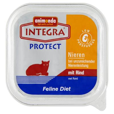 Integra Protect Kattenvoeding Nieren Feline Diet Rund 100 g
