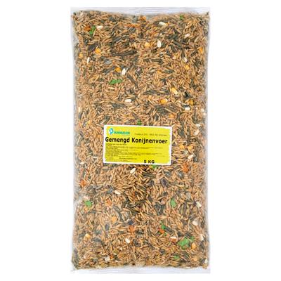 Ranzijn Tuin & Dier Gemengd Konijnenvoer 5 kg