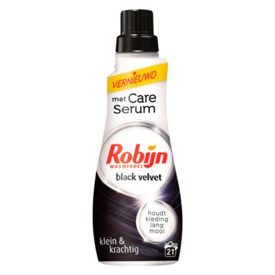 Robijn Klein & Krachtig Vloeibaar Wasmiddel Black Velvet 21 Wasbeurten