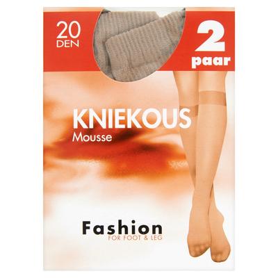 Fashion for Foot & Leg Kniekous Mousse Skyhaze 20 Den 2 Paar