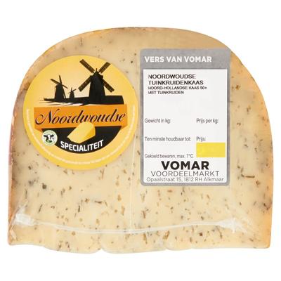 Vomar Noordwoudse Tuinkruidenkaas 50+ ca. 375 g