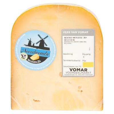 Vomar Noordwoudse Belegen Kaas 35+ ca. 450 g