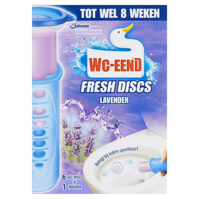 WC Eend Fresh discs lavendel