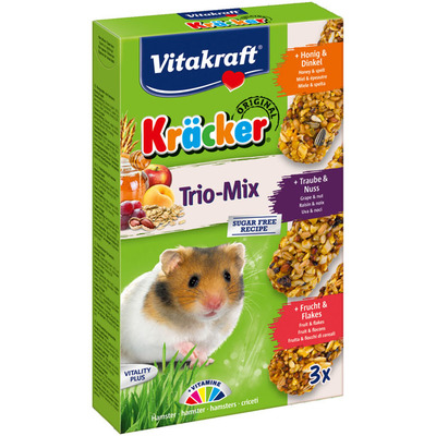 Vitakraft Kräckers hamster honing-fruit