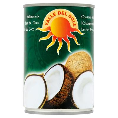Valle Del Sole Kokosmelk 400 ml