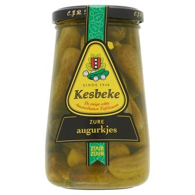 Kesbeke Zure Augurkjes 170 ml