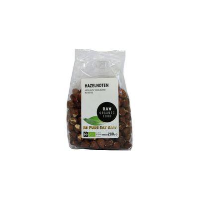 Raw Organic Food Hazelnoten