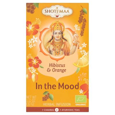 Shoti Maa Hibiscus & Orange in The Mood 16 x 2 g