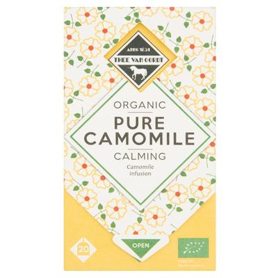 Thee Van Oordt Organic Pure Camomile Calming 20 x 1,25 g