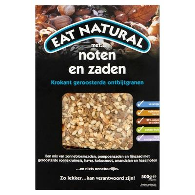 Eat Natural Krokant Geroosterde Ontbijtgranen met Noten en Zaden 500 g