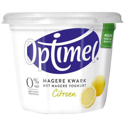 Optimel Magere kwark citroen