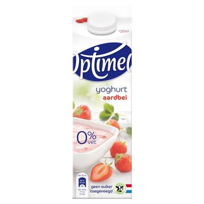 Optimel Yoghurt Aardbei 1 L