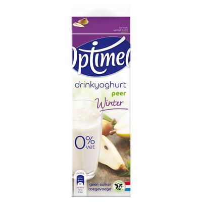 Optimel Wintervariatie Drinkyoghurt Peer 1 L
