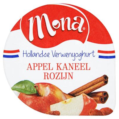 Mona Yoghurt Appel Kaneel Rozijn 150 ml