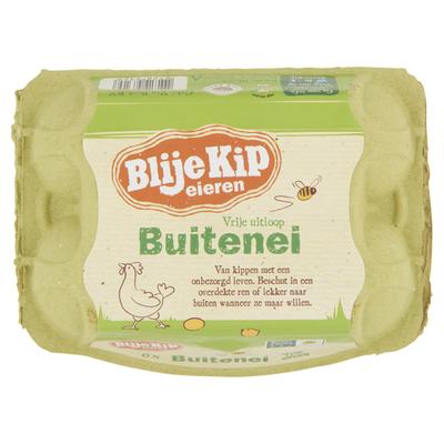 Blije Kip Buitenei, vrije uitloop eieren
