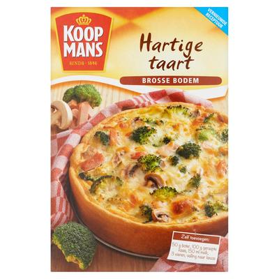 Koopmans Mix voor Hartige Taart Brosse Bodem 210 g