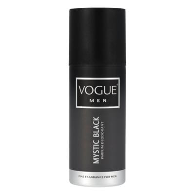 Vogue Men Mystic Black Parfum Deodorant