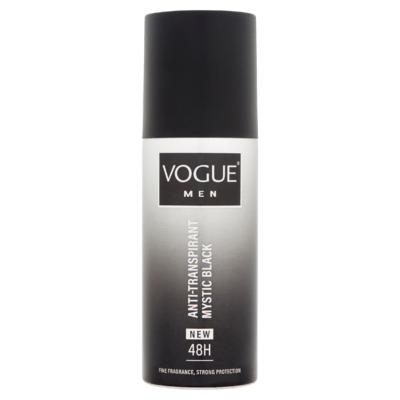 Vogue Men Anti-Transpirant 48h Mystic Black 150 ml