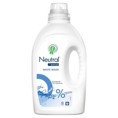 Neutral Wasmiddel Wit Parfumvrij 19 Wasbeurten