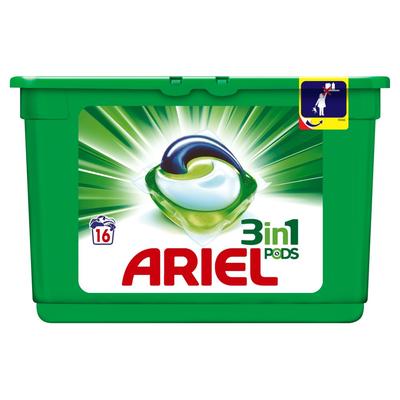 Ariel 3in1 Regular Wasmiddel Capsules 16 Wasbeurten