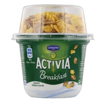 Activia Breakfast Yoghurt Natuurlijk Gesuikerd Met Granen