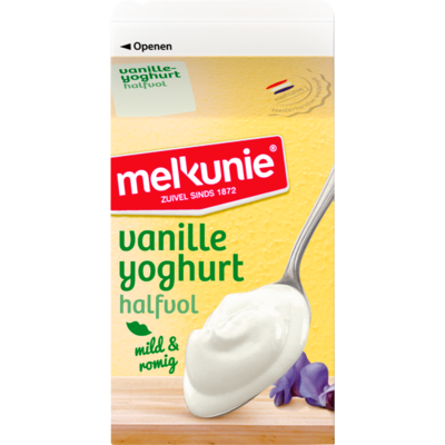 Melkunie Vanilleyoghurt halfvol