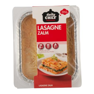 Huismerk Lasagne met zalm