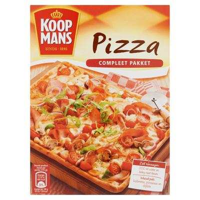 Koopmans Pizza Compleet Pakket 605 g