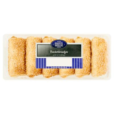 Bakkers Weelde Banketbroodjes 200 g