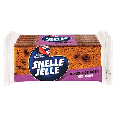 Snelle Jelle Kruidkoek Rozijn 5-pack 350 g