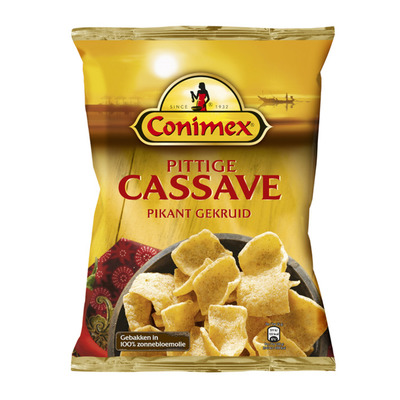 Conimex Kroepoek pittige cassave