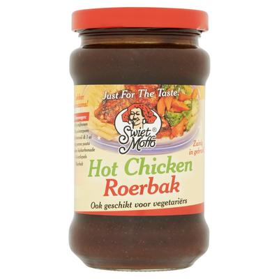Swiet Moffo Hot Chicken Roerbak 270 ml