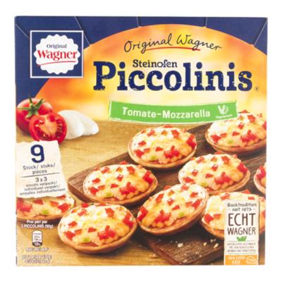 Wagner Piccolinis tomato-mozzarella